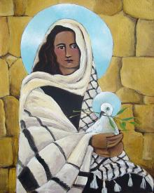 Mary, Our Lady of Peace by Br. Mickey McGrath, OSFS