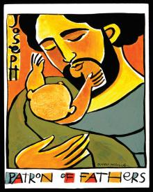 St. Joseph, Patron of Fathers by Br. Mickey McGrath, OSFS
