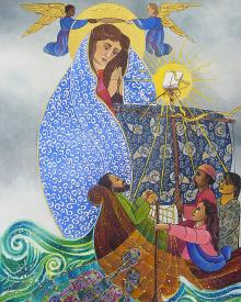 Mary, Queen of the Apostles by Br. Mickey McGrath, OSFS