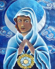 Mary, Queen of the Prophets by Br. Mickey McGrath, OSFS