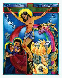 Tower of Strength by Br. Mickey McGrath, OSFS