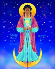 Our Lady, Untier of Knots by Br. Mickey McGrath, OSFS