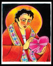 St. Valentine by Br. Mickey McGrath, OSFS