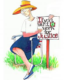 Work for Justice by Br. Mickey McGrath, OSFS