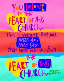 You Belong to the Heart of this Church by Br. Mickey McGrath, OSFS