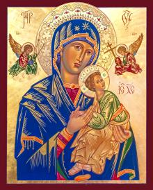 Our Lady of Perpetual Help by Robert Gerwing