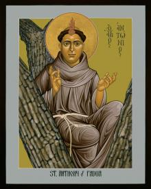 St. Anthony of Padua by Br. Robert Lentz, OFM
