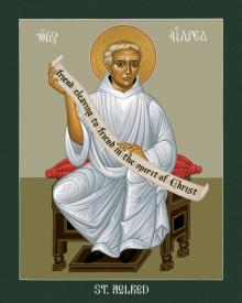 St. Aelred of Rievaulx by Br. Robert Lentz, OFM