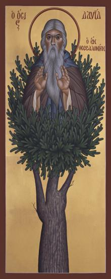 St. David of Thessalonika by Br. Robert Lentz, OFM
