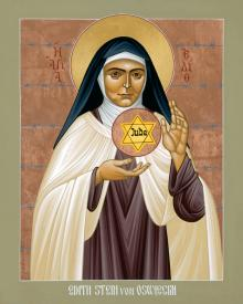 St. Edith Stein of Auschwitz by Br. Robert Lentz, OFM