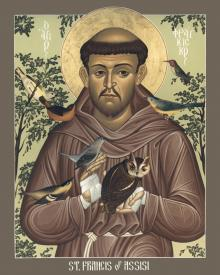 St. Francis of Assisi by Br. Robert Lentz, OFM