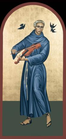 St. Francis Solano by Br. Robert Lentz, OFM
