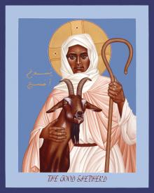 The Good Shepherd by Br. Robert Lentz, OFM