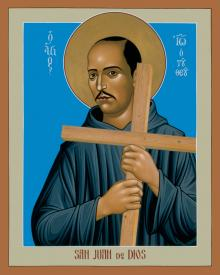 St. John of God by Br. Robert Lentz, OFM