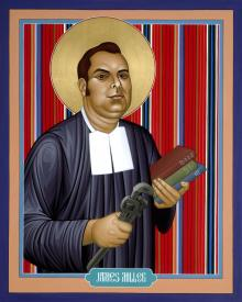 Bl. James A. Miller, FSC by Br. Robert Lentz, OFM