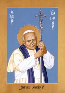 St. John Paul II by Br. Robert Lentz, OFM