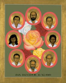 Martyrs of the Jesuit University by Br. Robert Lentz, OFM