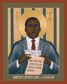 Martin Luther King of Georgia by Br. Robert Lentz, OFM