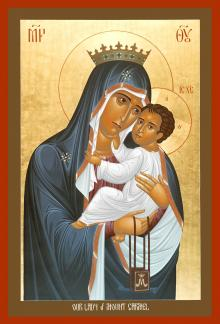 Our Lady of Mt. Carmel by Br. Robert Lentz, OFM