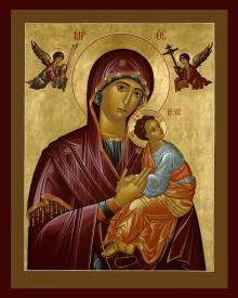 Our Lady of Perpetual Help   by Br. Robert Lentz, OFM