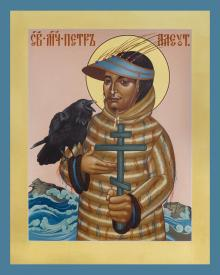 St. Peter the Aleut by Br. Robert Lentz, OFM