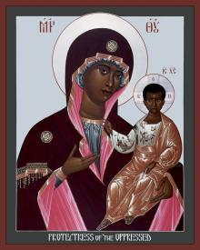 Mother of God: Protectress of the Oppressed by Br. Robert Lentz, OFM