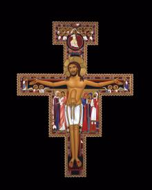 San Damiano Crucifix by Br. Robert Lentz, OFM