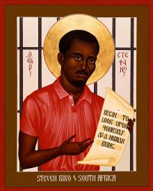 Stephen Biko of South Africa by Br. Robert Lentz, OFM