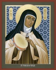 St. Teresa of Avila by Br. Robert Lentz, OFM