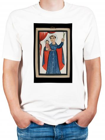 Adult T-shirt - St. Anthony of Padua by A. Olivas