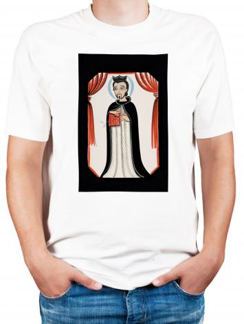 Adult T-shirt - St. Ignatius of Loyola by A. Olivas