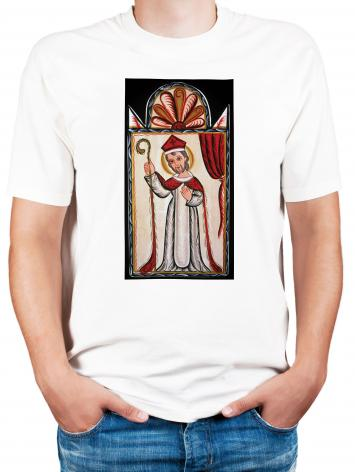 Adult T-shirt - St. Nicholas by A. Olivas