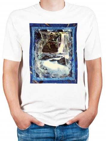 Adult T-shirt - Eagles Rest Upon Air by B. Gilroy