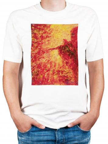 Adult T-shirt - Blind Beggar by B. Gilroy