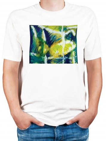 Adult T-shirt - Fish In Net by B. Gilroy