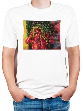 Adult T-shirt - St. Lazarus by B. Gilroy