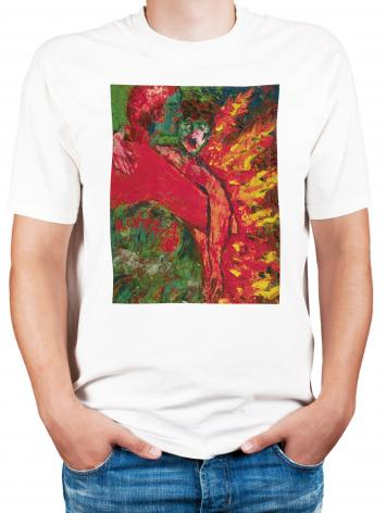 Adult T-shirt - St. Oscar Romero's Embrace by B. Gilroy