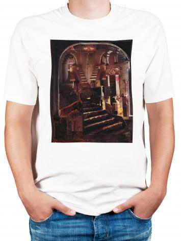 Adult T-shirt - Split Staircase by B. Gilroy