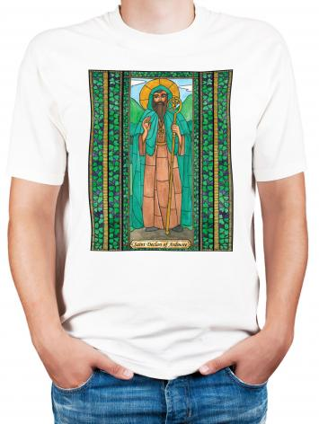 Adult T-shirt - St. Declan of Ardmore by B. Nippert