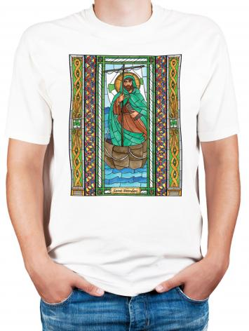 Adult T-shirt - St. Brendan by B. Nippert
