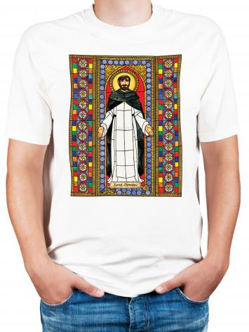 Adult T-shirt - St. Dominic by B. Nippert