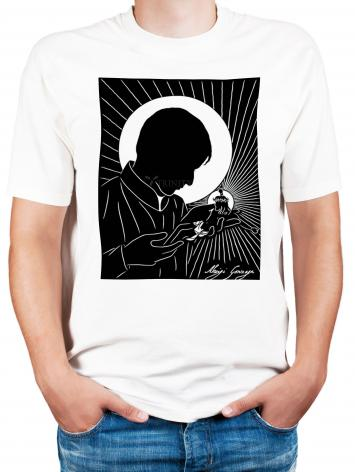 Adult T-shirt - St. Aloysius by D. Paulos