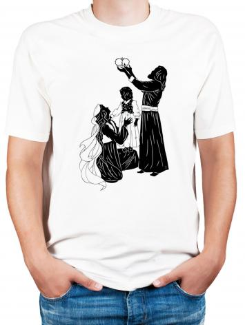 Adult T-shirt - Behold Thy King by D. Paulos