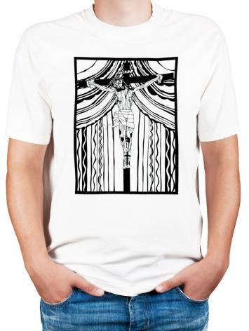 Adult T-shirt - Cristo de Chimayó by D. Paulos