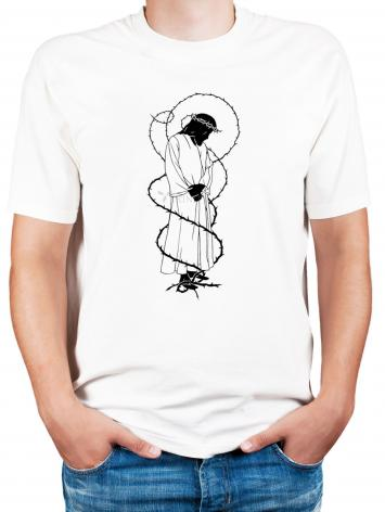 Adult T-shirt - Crowning with Thorns by D. Paulos