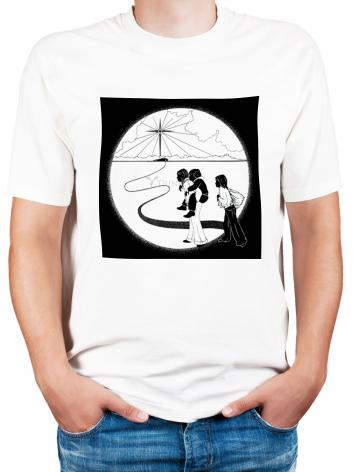 Adult T-shirt - Come to the Stable by D. Paulos