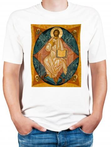 Adult T-shirt - Christ Enthroned by J. Cole