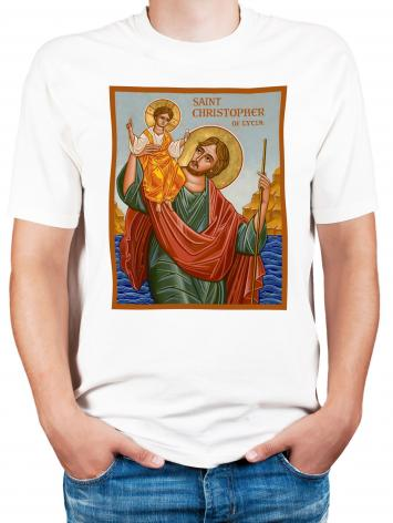 Adult T-shirt - St. Christopher by J. Cole