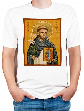 Adult T-shirt - St. Dominic by J. Cole