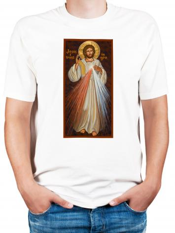 Adult T-shirt - Divine Mercy by J. Cole